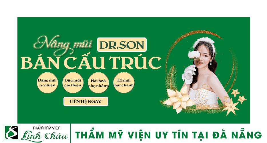 Dịch vụ nâng mũi bán cấu trúc uy tín ở thẩm mỹ viện Linh Châu Đà Nẵng