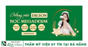 Dịch vụ nâng mũi bọc megaderm uy tín ở thẩm mỹ viện Linh Châu Đà Nẵng
