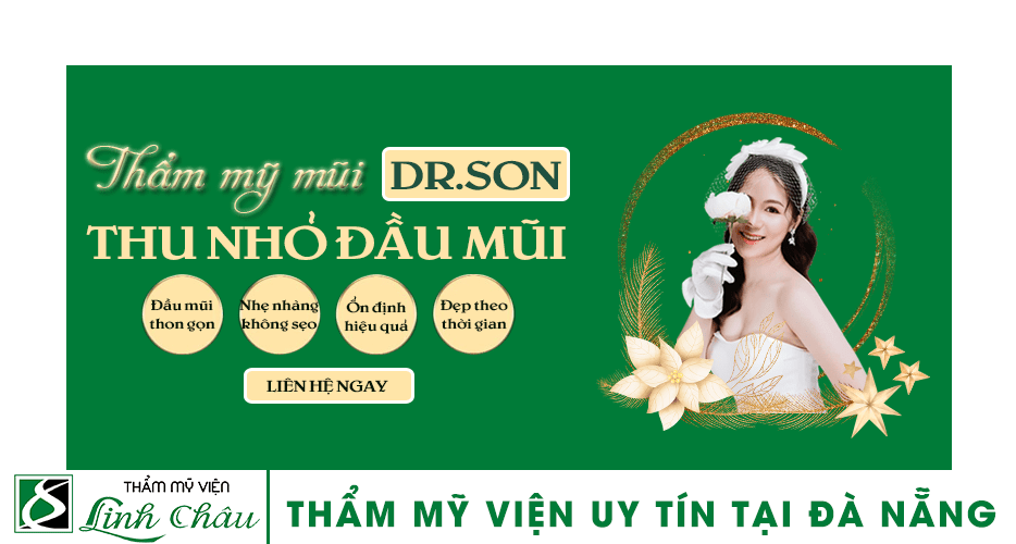 Dịch vụ thu nhỏ đầu mũi uy tín ở thẩm mỹ viện Linh châu Đà Nẵng