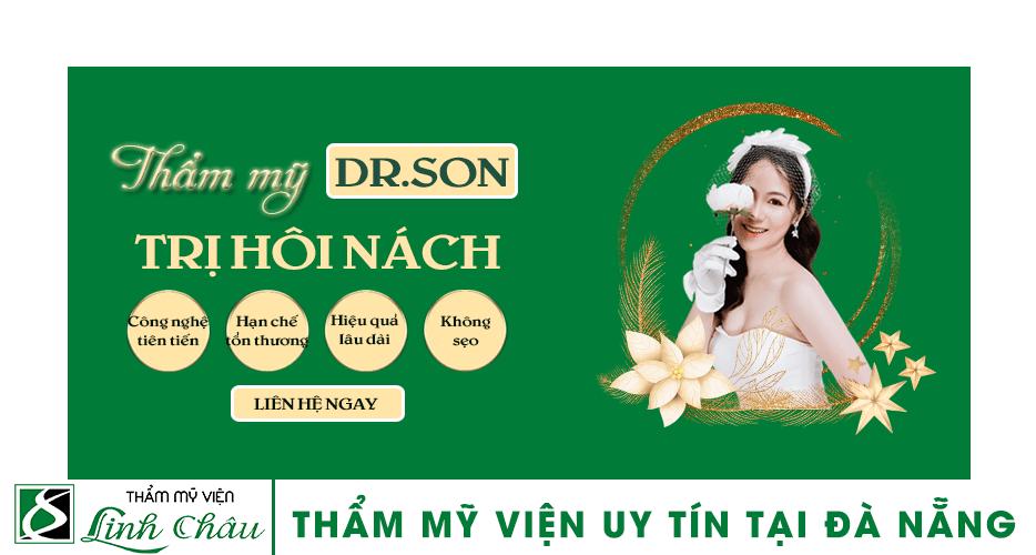 Dịch vụ trị hôi nách uy tín ở thẩm mỹ viện Linh Châu Đà Nẵng